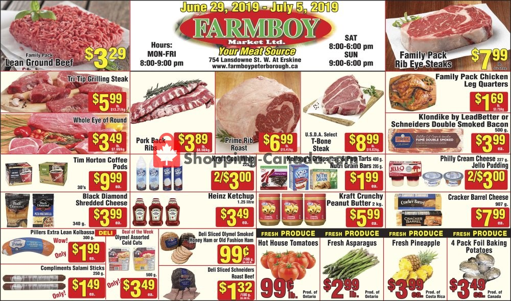 Flyer Farmboy Peterborough Canada - from Saturday June 29, 2019 to Friday July 5, 2019