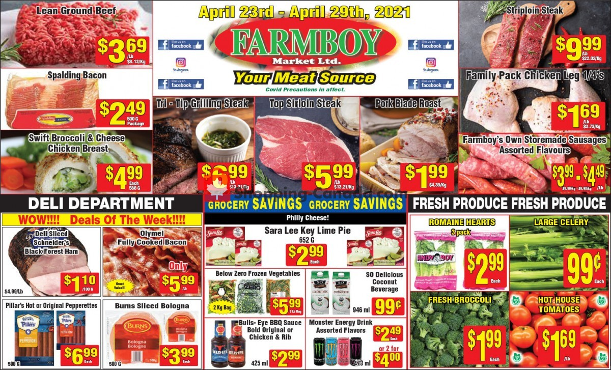 Flyer Farmboy Peterborough Canada - from Friday April 23, 2021 to Thursday April 29, 2021