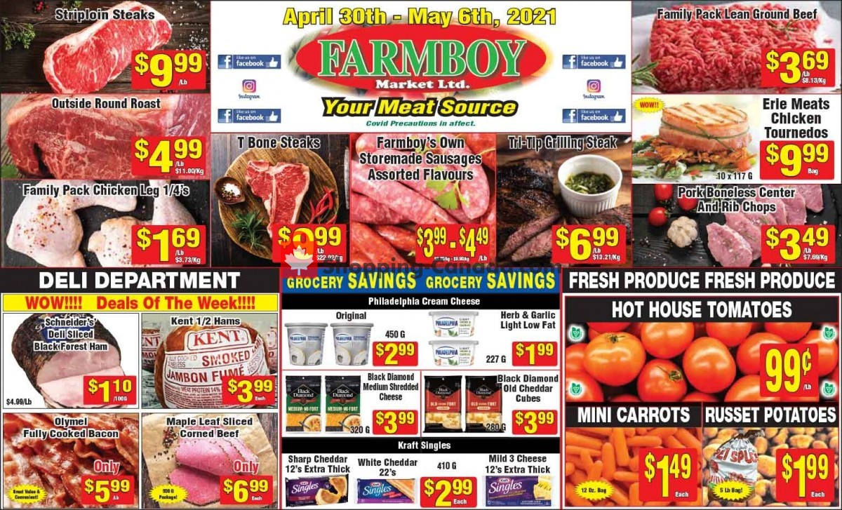 Flyer Farmboy Peterborough Canada - from Friday April 30, 2021 to Thursday May 6, 2021