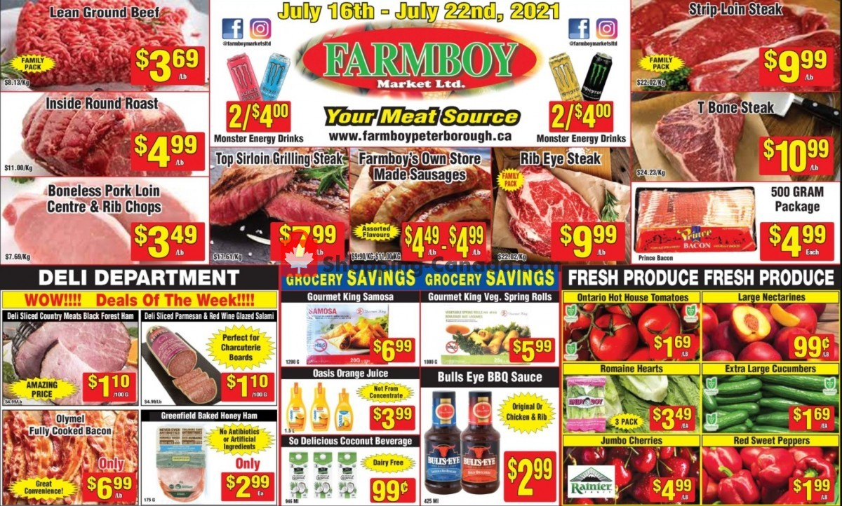 Flyer Farmboy Peterborough Canada - from Friday July 16, 2021 to Thursday July 22, 2021