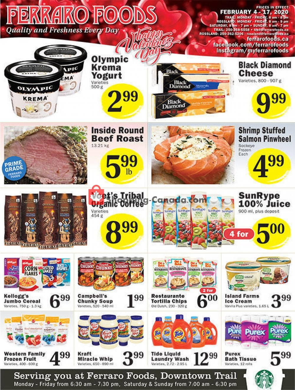 Flyer Ferraro Foods Canada - from Tuesday February 4, 2020 to Monday February 17, 2020
