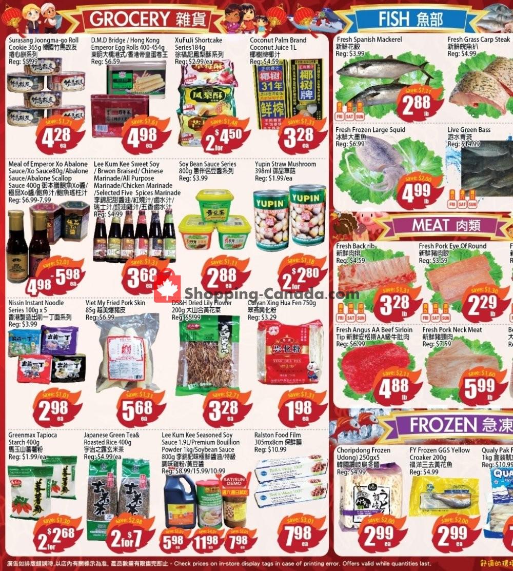 Flyer Field Fresh Supermarket Canada - from Friday January 10, 2020 to Thursday January 16, 2020