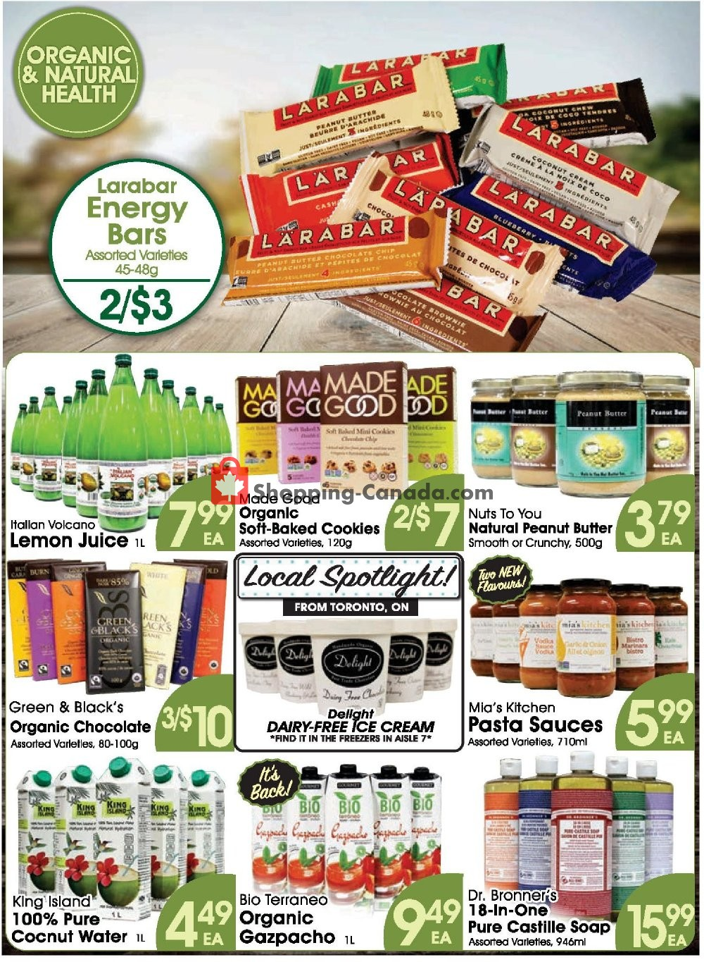 Flyer Fiesta Farms Canada - from Friday July 12, 2019 to Thursday July 18, 2019