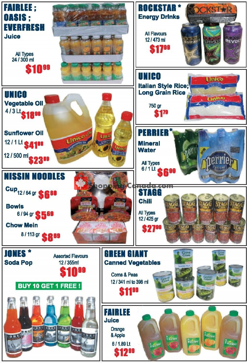 Flyer FKK Wholesale Cash & Carry Canada - from Wednesday October 9, 2019 to Saturday November 2, 2019