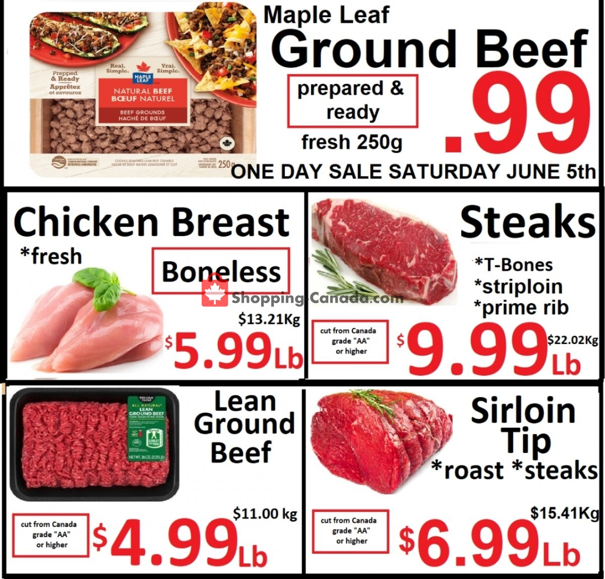 Flyer Food 4 Less Canada - from Friday June 4, 2021 to Thursday June 10, 2021