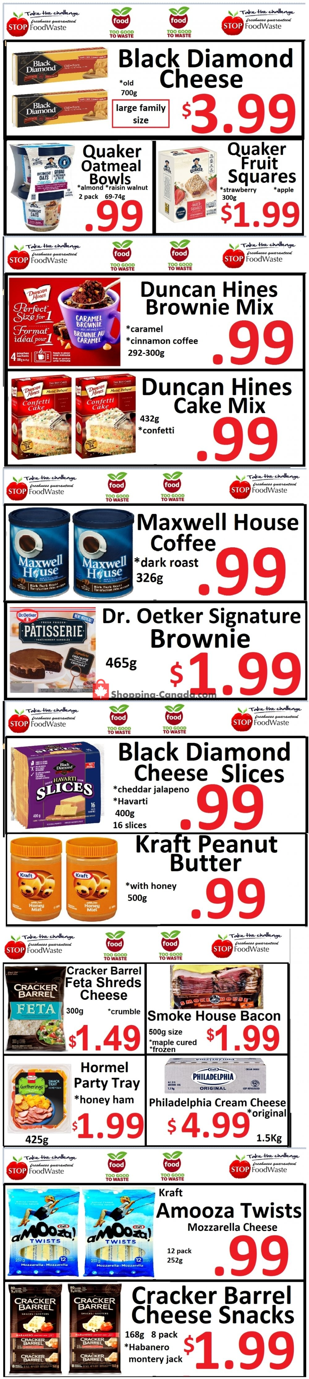 Flyer Food 4 Less Canada - from Friday July 31, 2020 to Thursday August 6, 2020