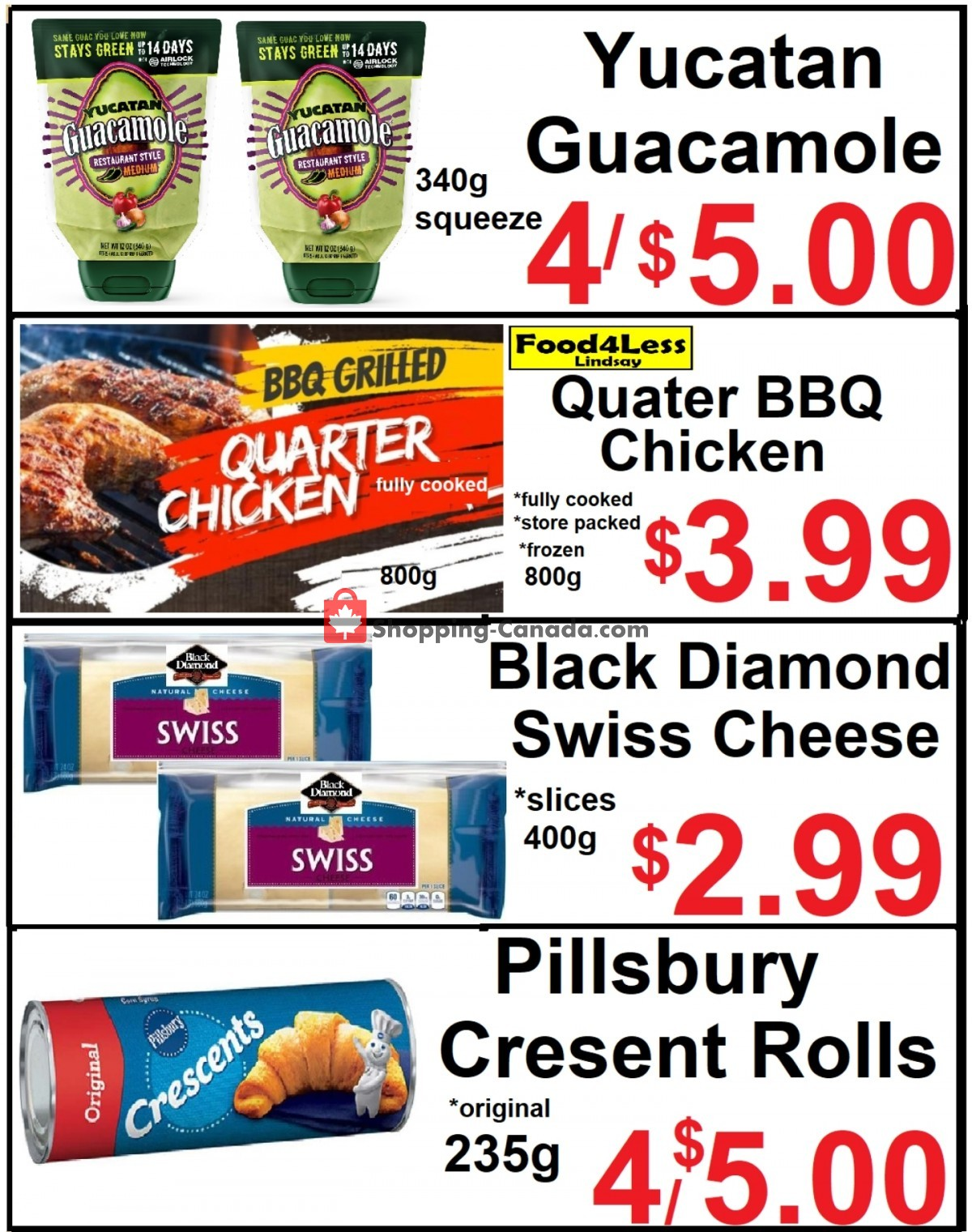 Flyer Food 4 Less Canada - from Friday April 30, 2021 to Thursday May 6, 2021