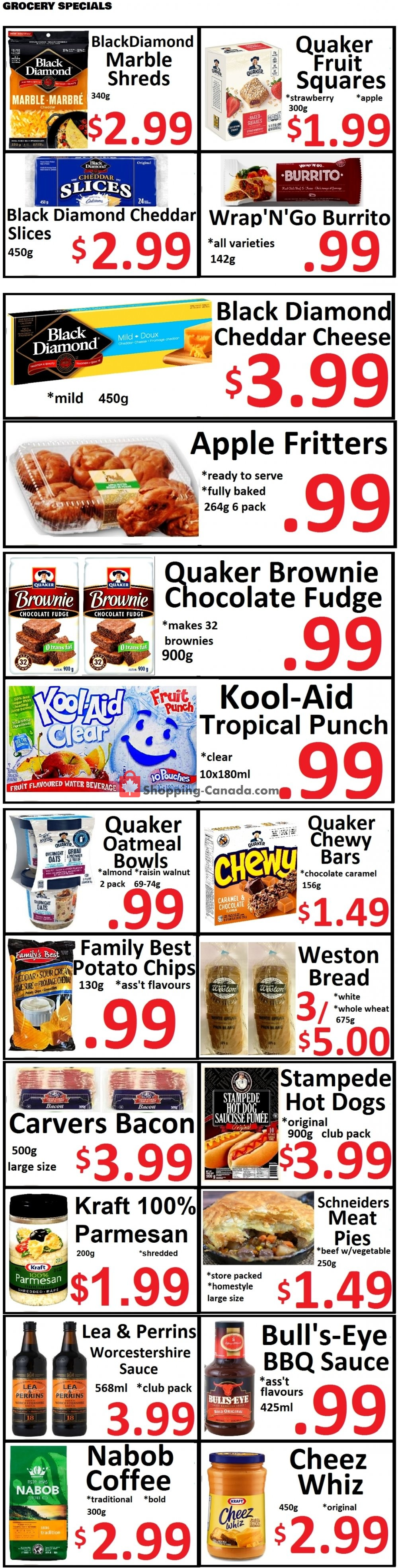 Flyer Food 4 Less Canada - from Friday April 24, 2020 to Thursday April 30, 2020
