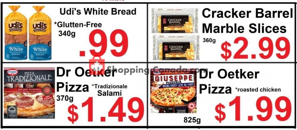 Flyer Food 4 Less Canada - from Friday January 10, 2020 to Thursday January 16, 2020