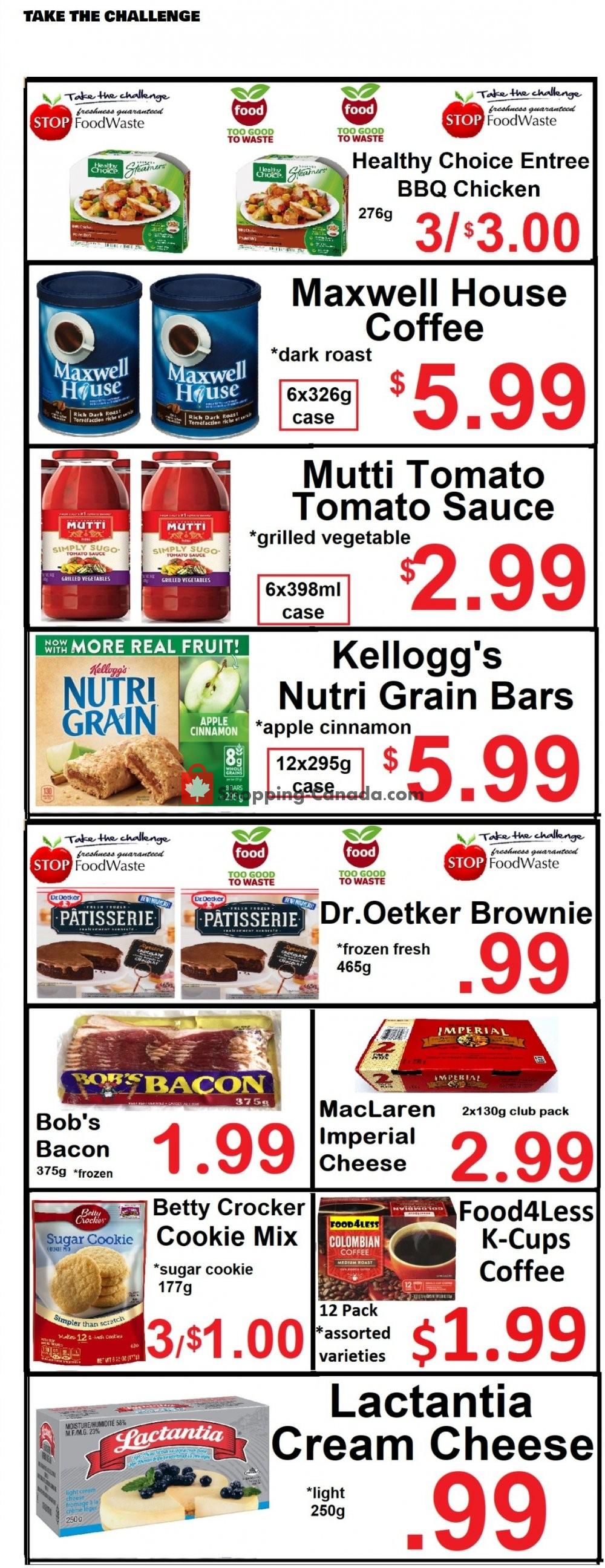 Flyer Food 4 Less Canada - from Friday January 22, 2021 to Thursday January 28, 2021