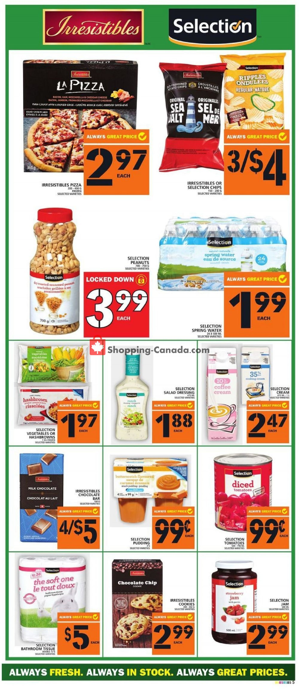 Flyer Food Basics Canada - from Thursday August 8, 2019 to Wednesday August 14, 2019