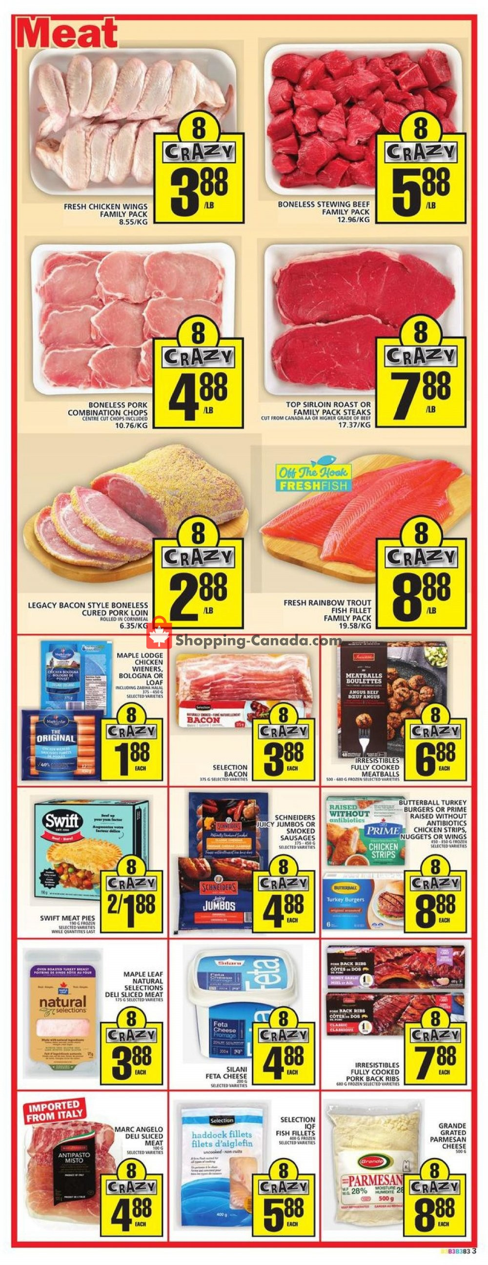 Flyer Food Basics Canada - from Thursday January 16, 2020 to Wednesday January 22, 2020