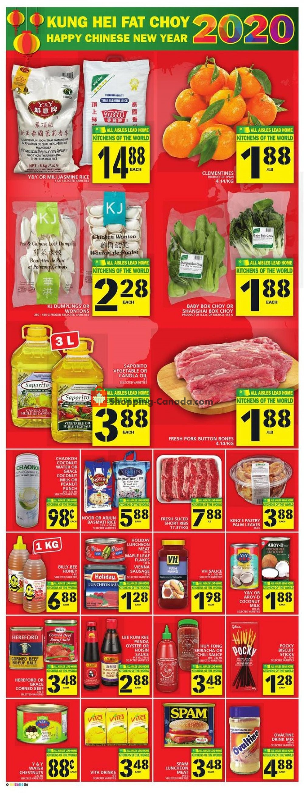 Flyer Food Basics Canada - from Thursday January 16, 2020 to Wednesday January 22, 2020