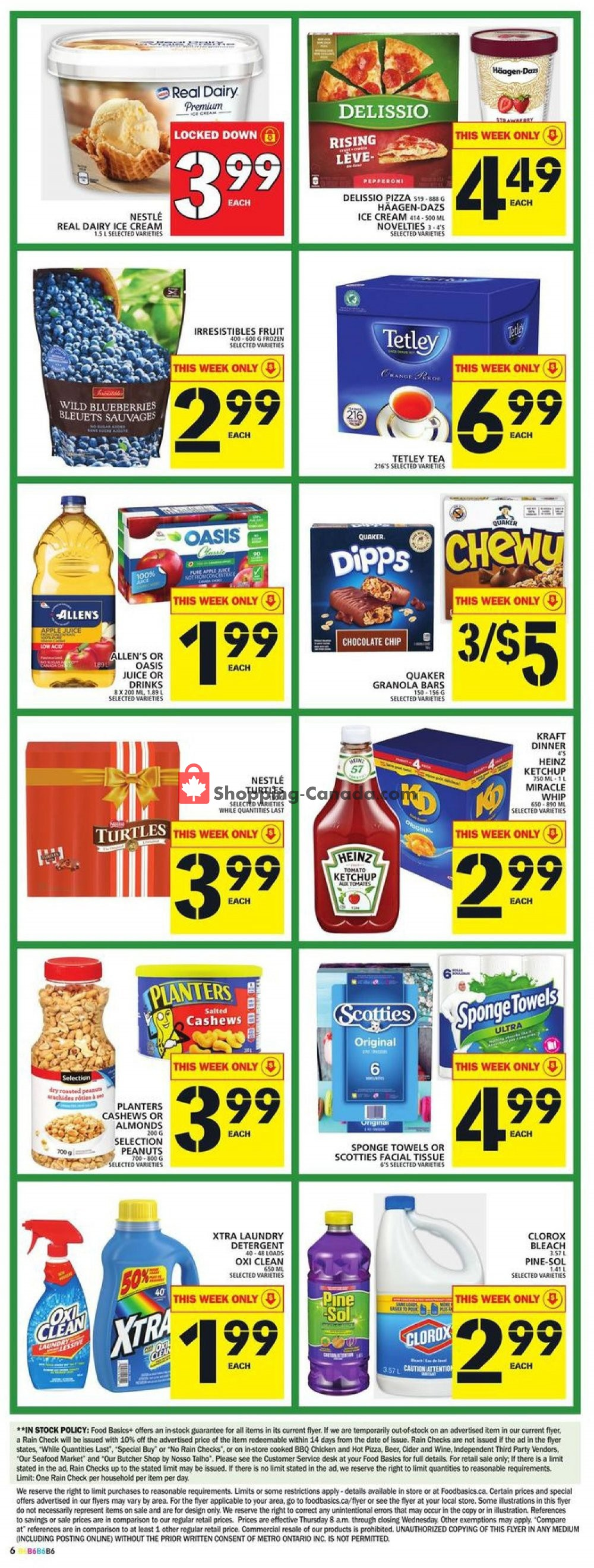 Flyer Food Basics Canada - from Thursday November 7, 2019 to Wednesday November 13, 2019