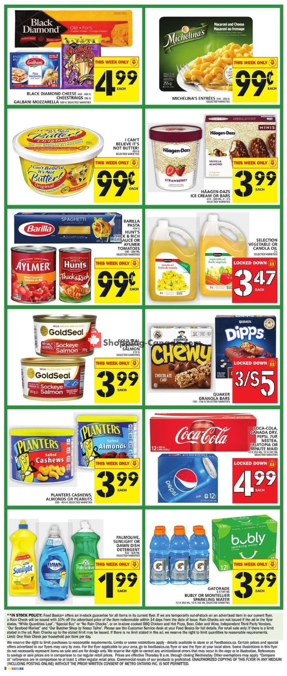 Flyer Food Basics Canada - from Thursday September 5, 2019 to Wednesday September 11, 2019