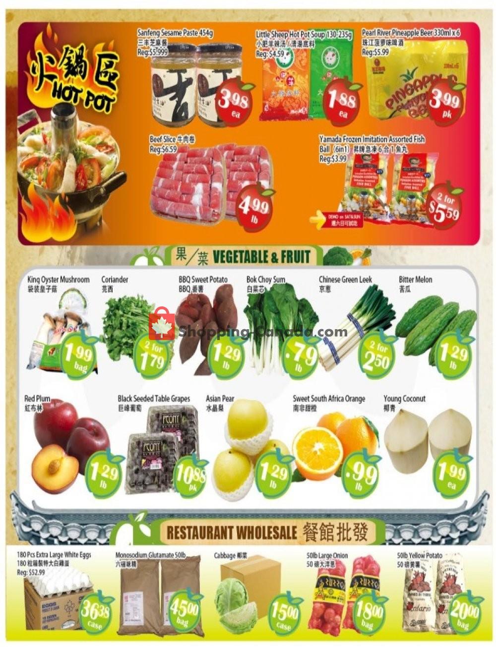 Flyer Food Depot Supermarket Canada - from Friday October 4, 2019 to Thursday October 10, 2019