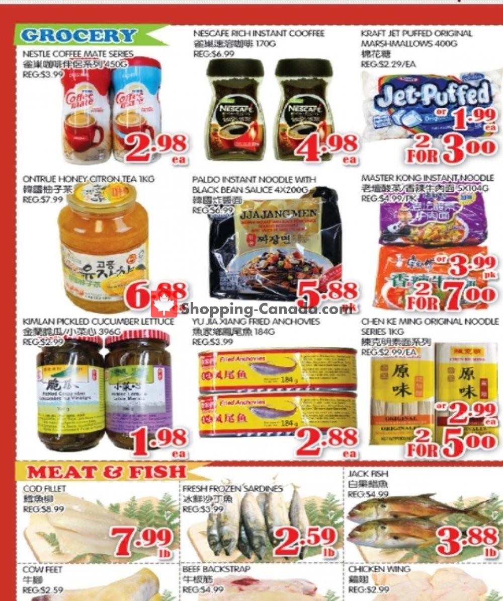 Flyer Food Island Supermarket Canada - from Friday October 16, 2020 to Thursday October 22, 2020