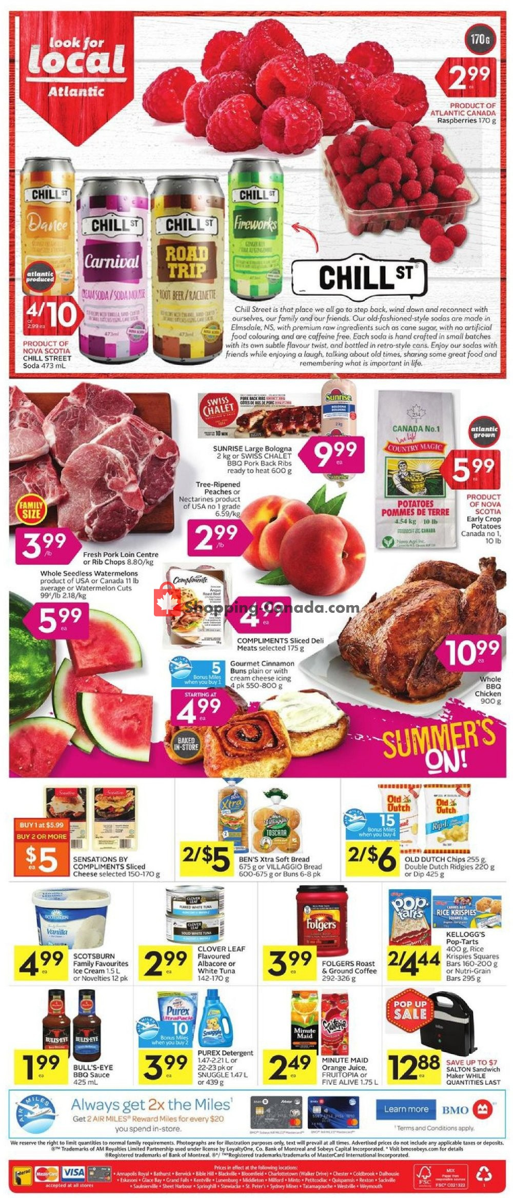 Flyer Foodland Canada - from Thursday August 8, 2019 to Wednesday August 14, 2019