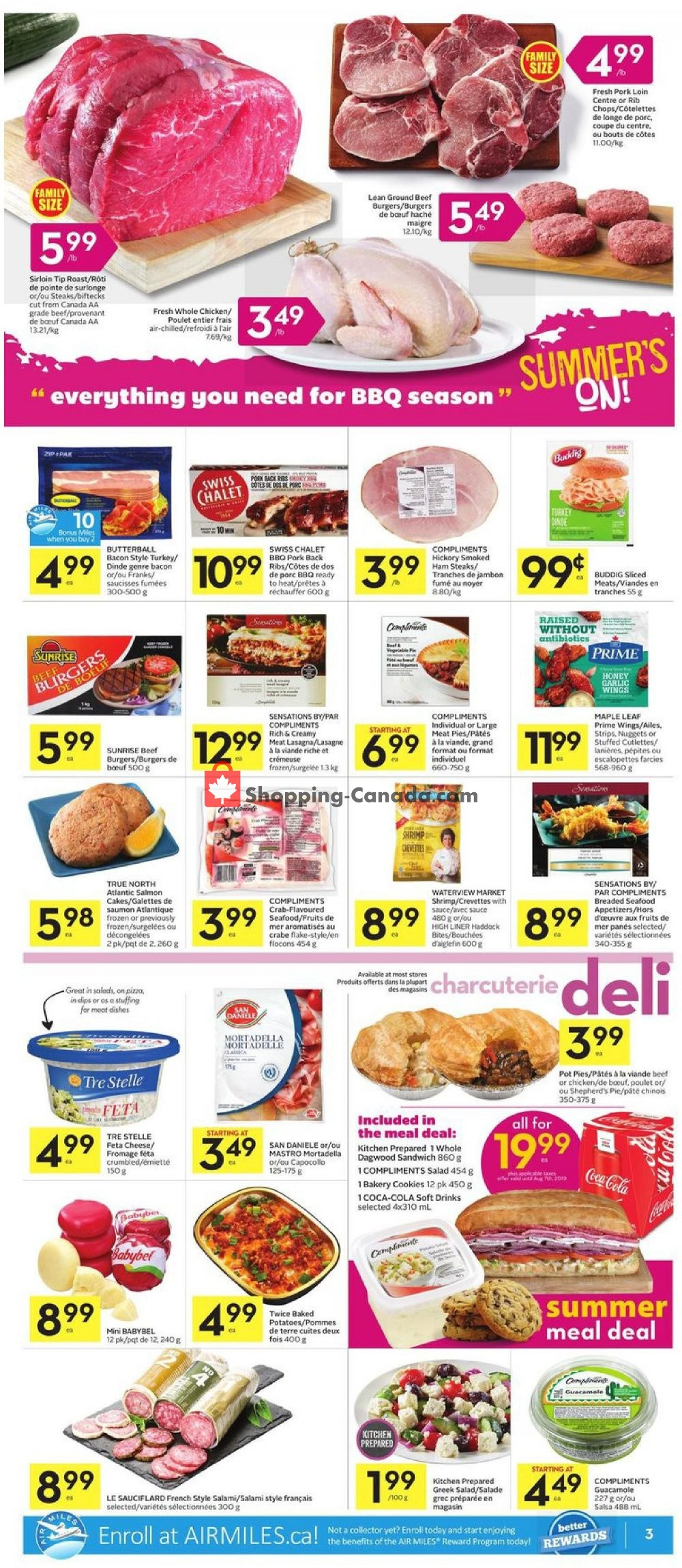 Flyer Foodland Canada - from Thursday July 11, 2019 to Wednesday July 17, 2019