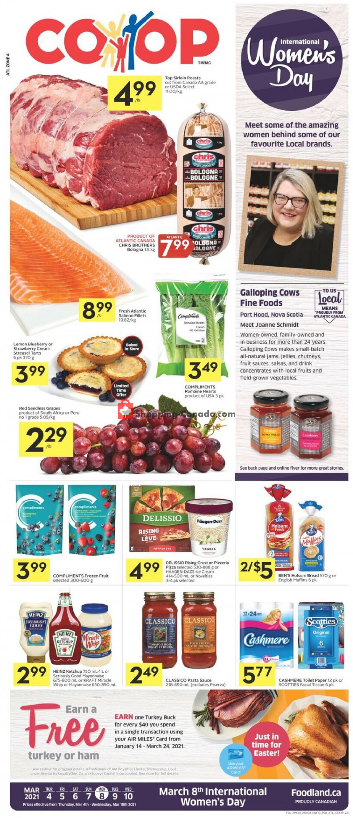 Flyer Foodland Canada - from Thursday March 4, 2021 to Wednesday March 10, 2021