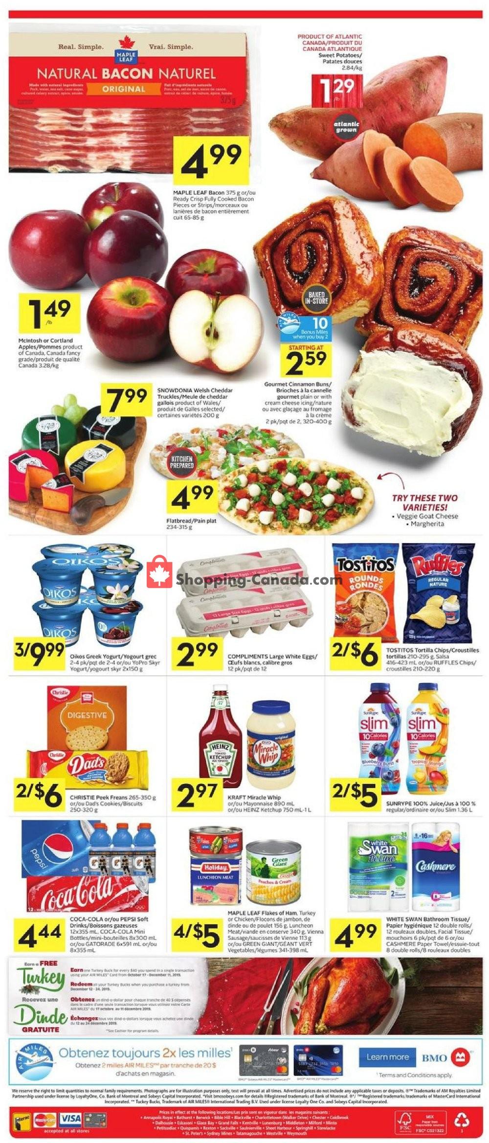 Flyer Foodland Canada - from Thursday November 7, 2019 to Wednesday November 13, 2019