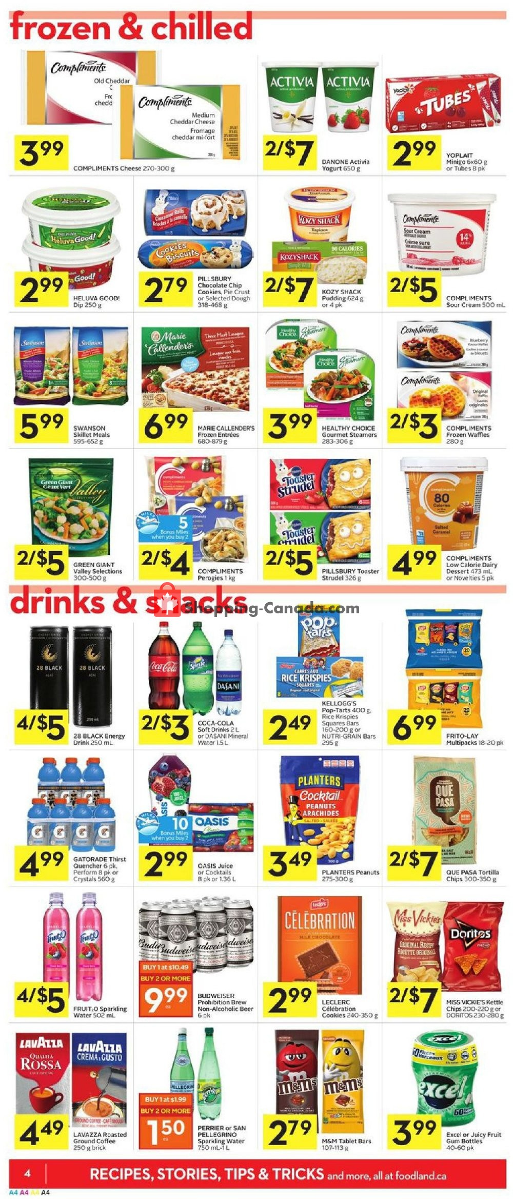 Flyer Foodland Canada - from Thursday January 16, 2020 to Wednesday January 22, 2020
