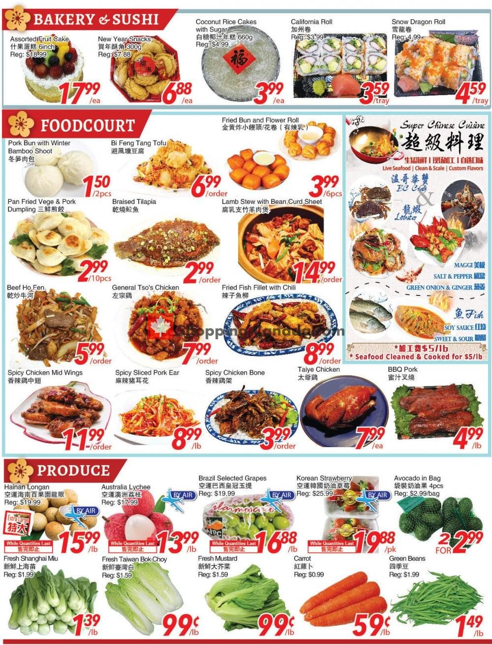Flyer Foody World Canada - from Friday January 15, 2021 to Thursday January 21, 2021