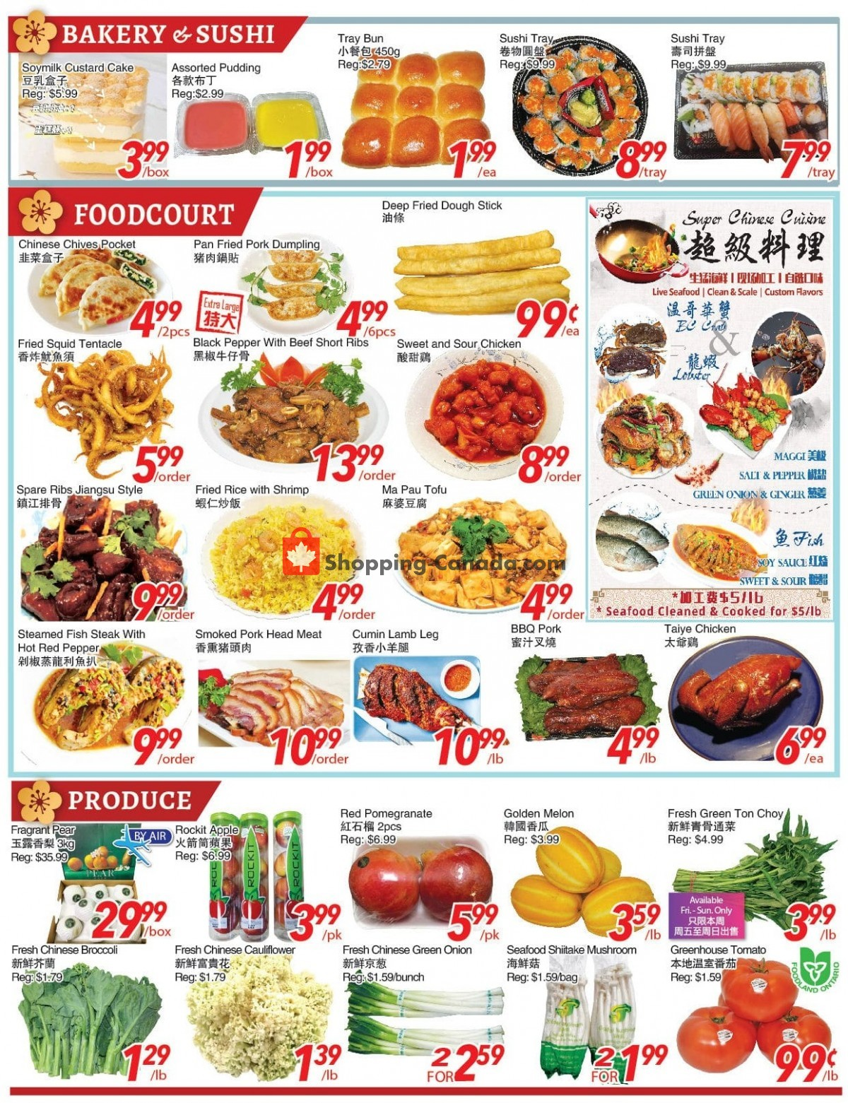 Flyer Foody World Canada - from Friday April 30, 2021 to Thursday May 6, 2021