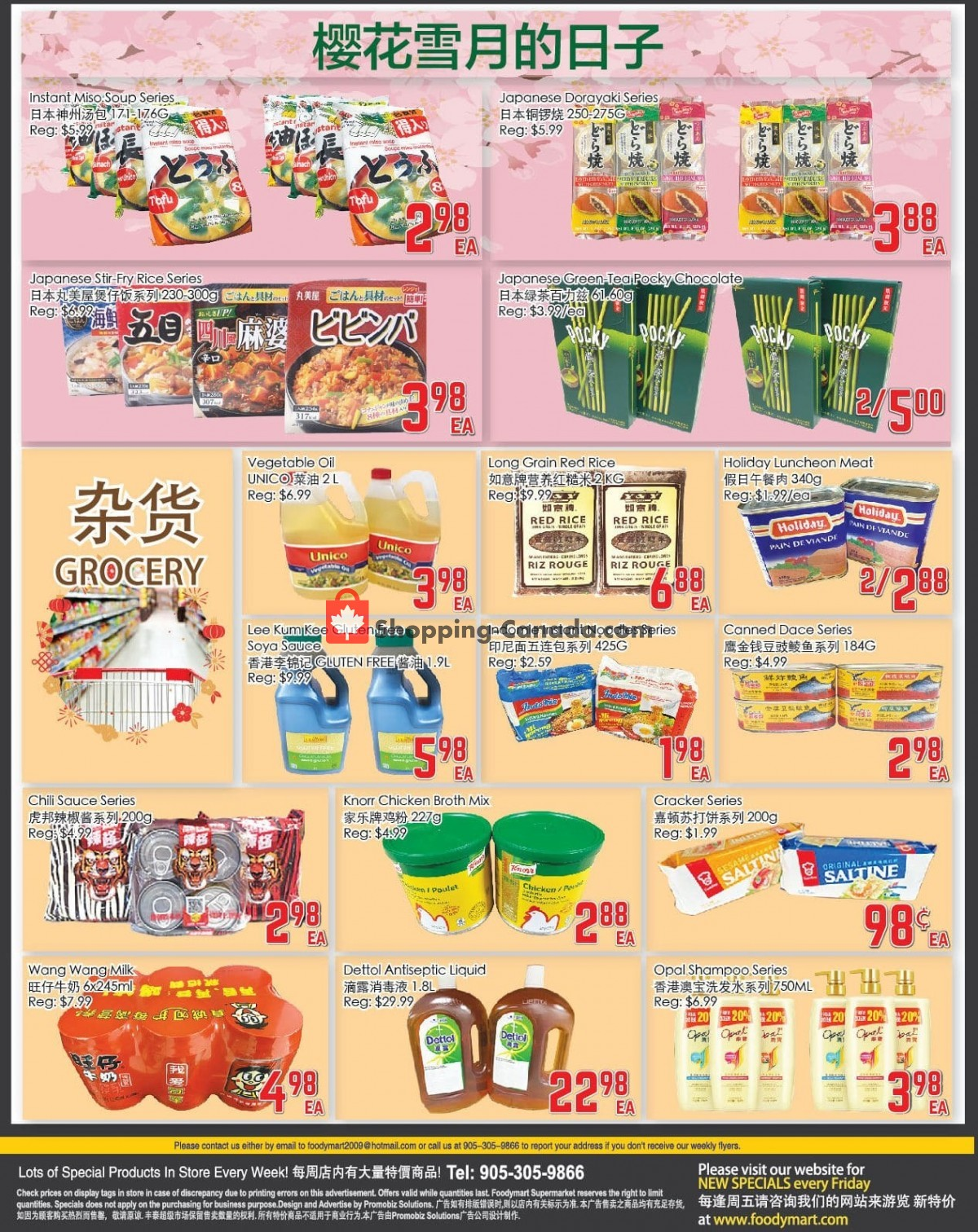Flyer Foodymart Canada - from Friday July 9, 2021 to Thursday July 15, 2021