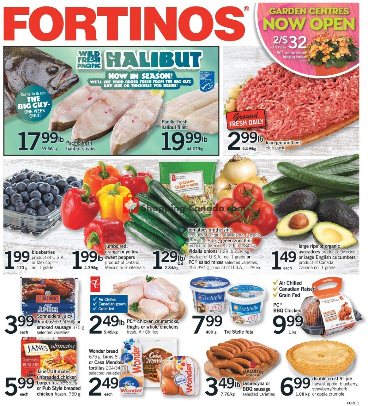 Flyer Fortinos Canada - from Thursday April 29, 2021 to Wednesday May 5, 2021
