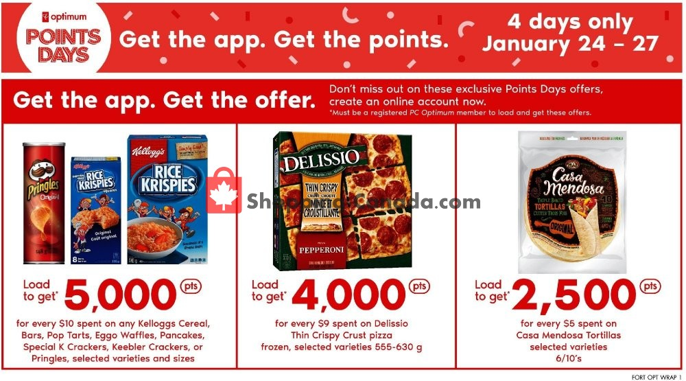Flyer Fortinos Canada - from Thursday January 24, 2019 to Wednesday January 30, 2019