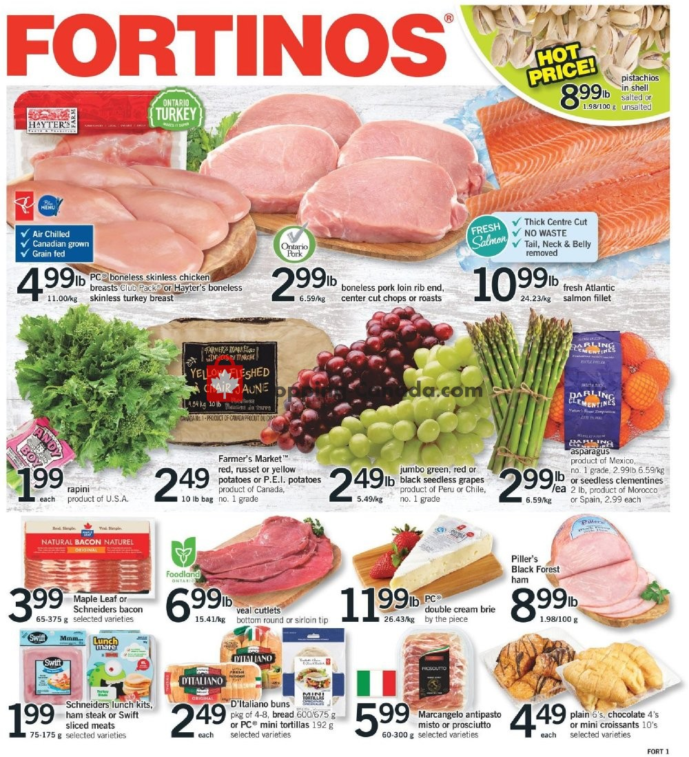 Flyer Fortinos Canada - from Thursday February 6, 2020 to Wednesday February 12, 2020