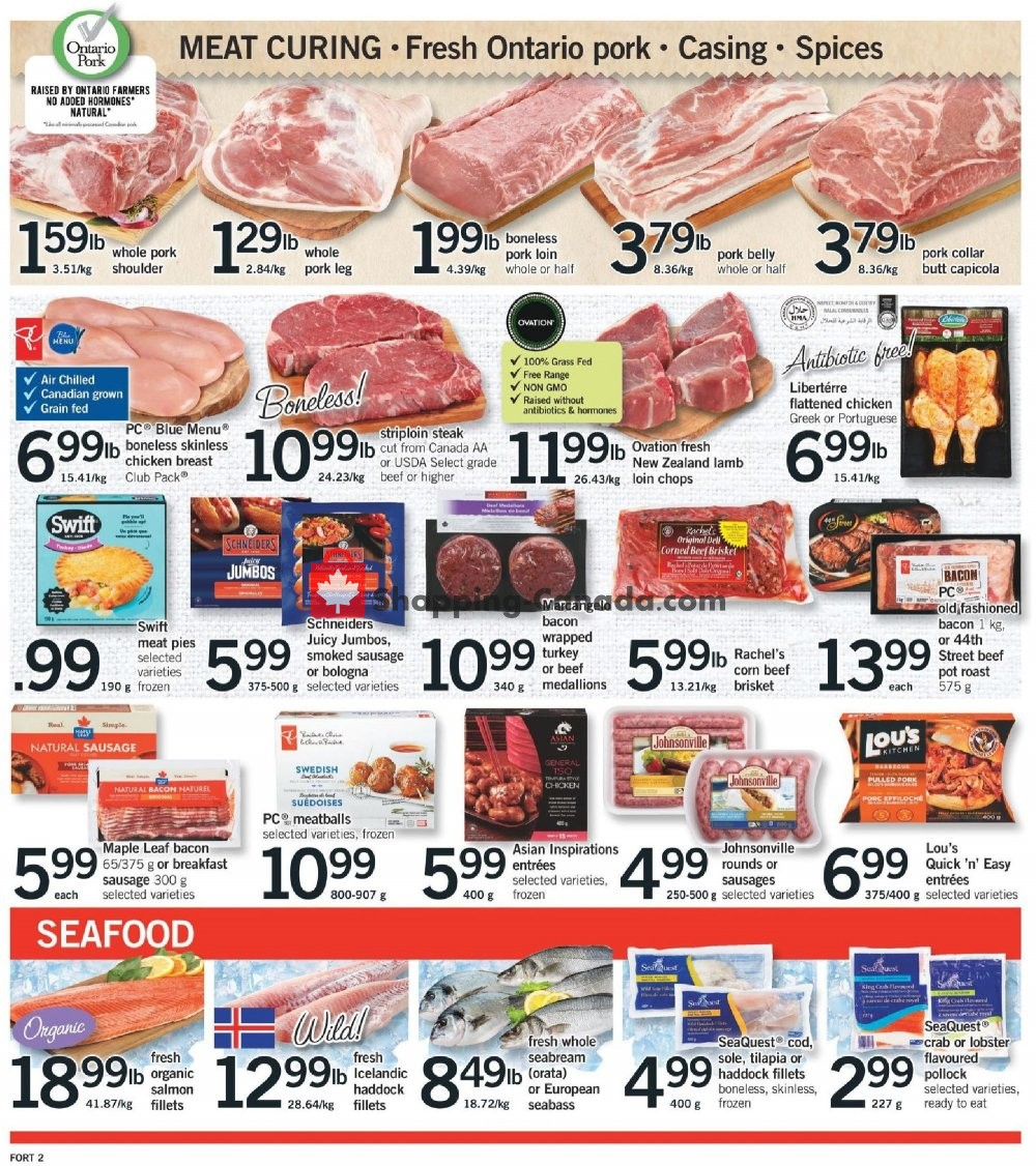 Flyer Fortinos Canada - from Thursday January 16, 2020 to Wednesday January 22, 2020