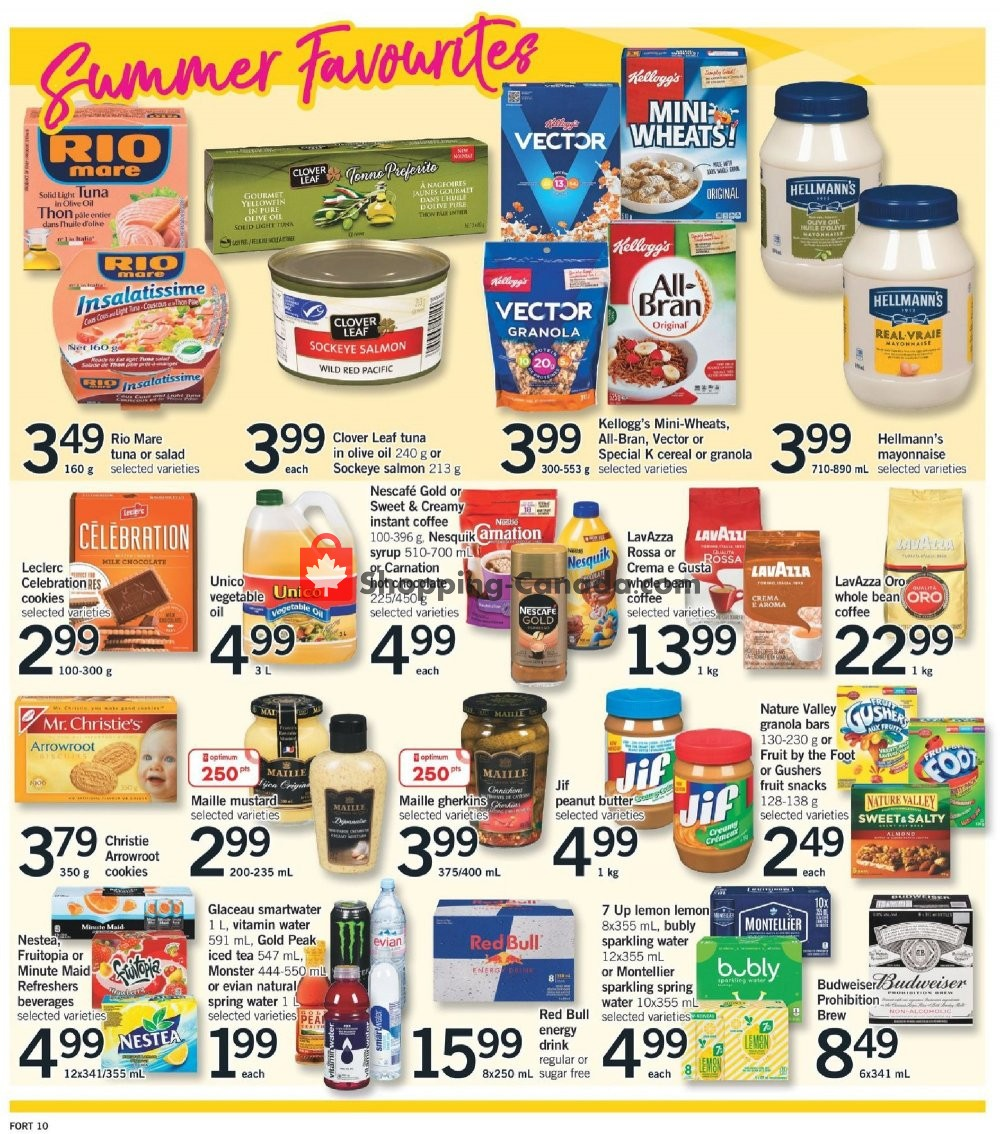 Flyer Fortinos Canada - from Thursday July 11, 2019 to Wednesday July 17, 2019