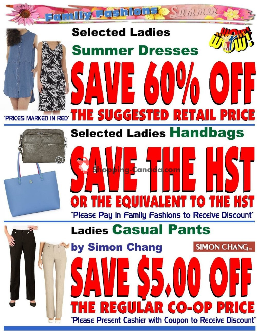 Flyer Fredericton Co-op Canada - from Thursday August 8, 2019 to Wednesday August 14, 2019