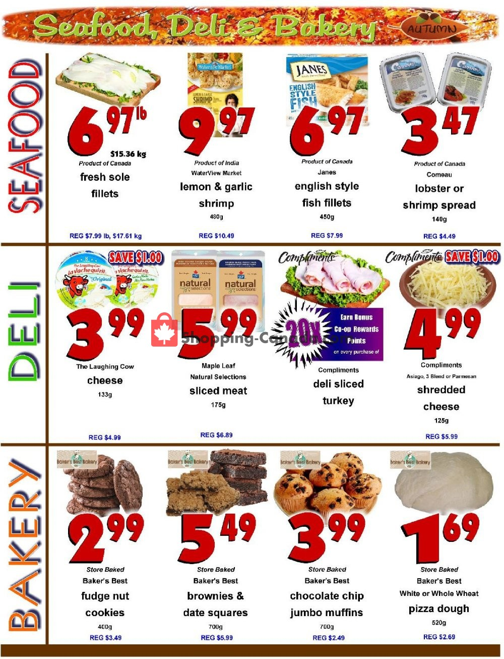 Flyer Fredericton Co-op Canada - from Thursday November 7, 2019 to Wednesday November 13, 2019