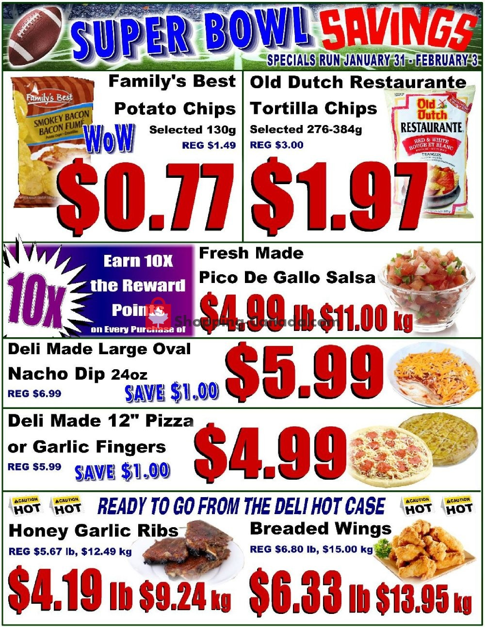 Flyer Fredericton Co-op Canada - from Thursday January 31, 2019 to Sunday February 3, 2019
