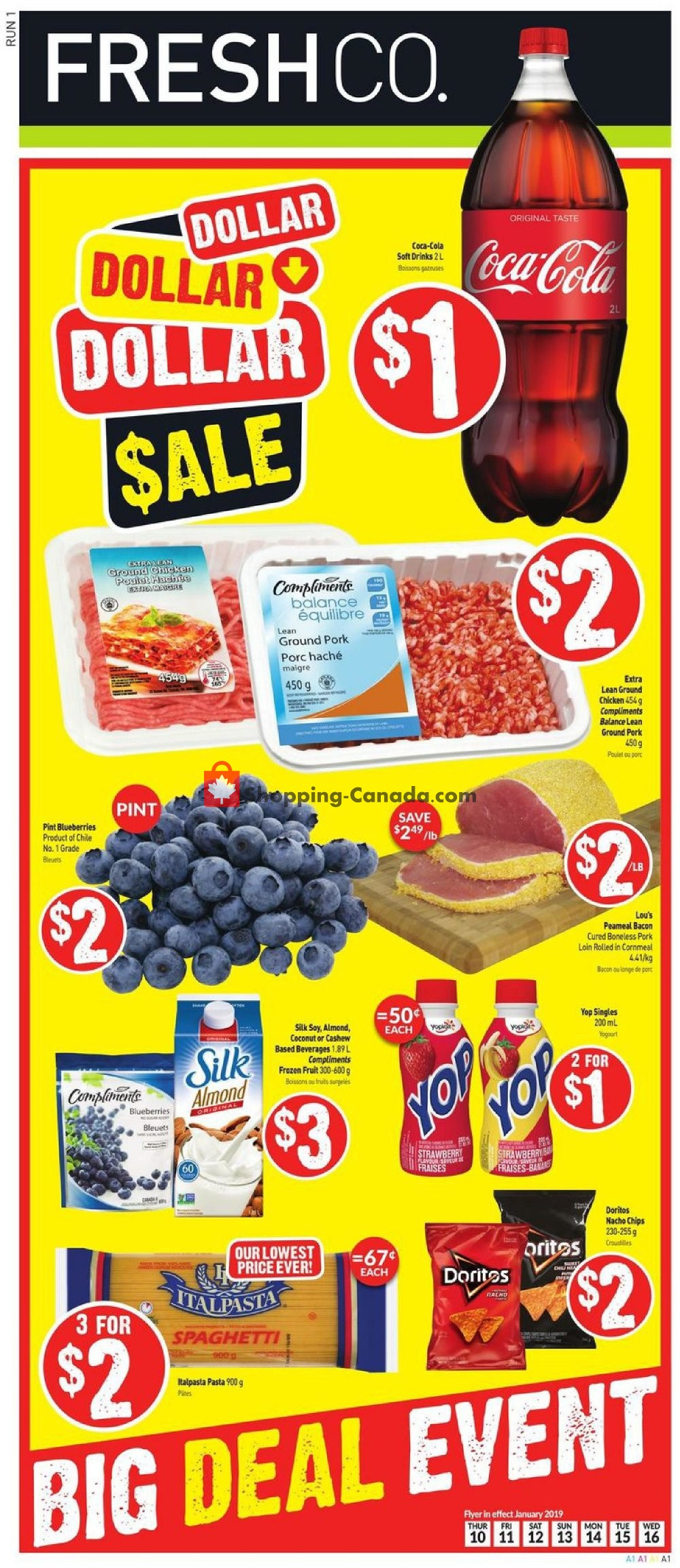 Flyer and weekly ads: Fresh Co  Canada - (Big Deal Event
