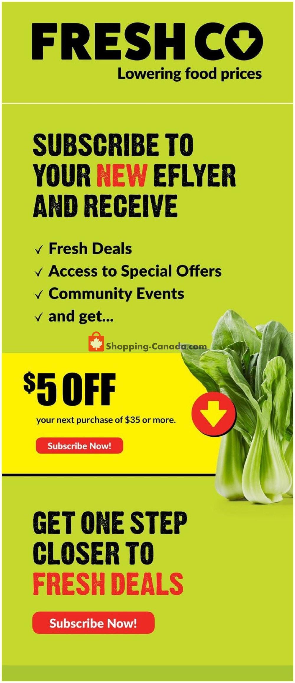 Flyer Fresh Co. Canada - from Thursday January 16, 2020 to Wednesday January 22, 2020