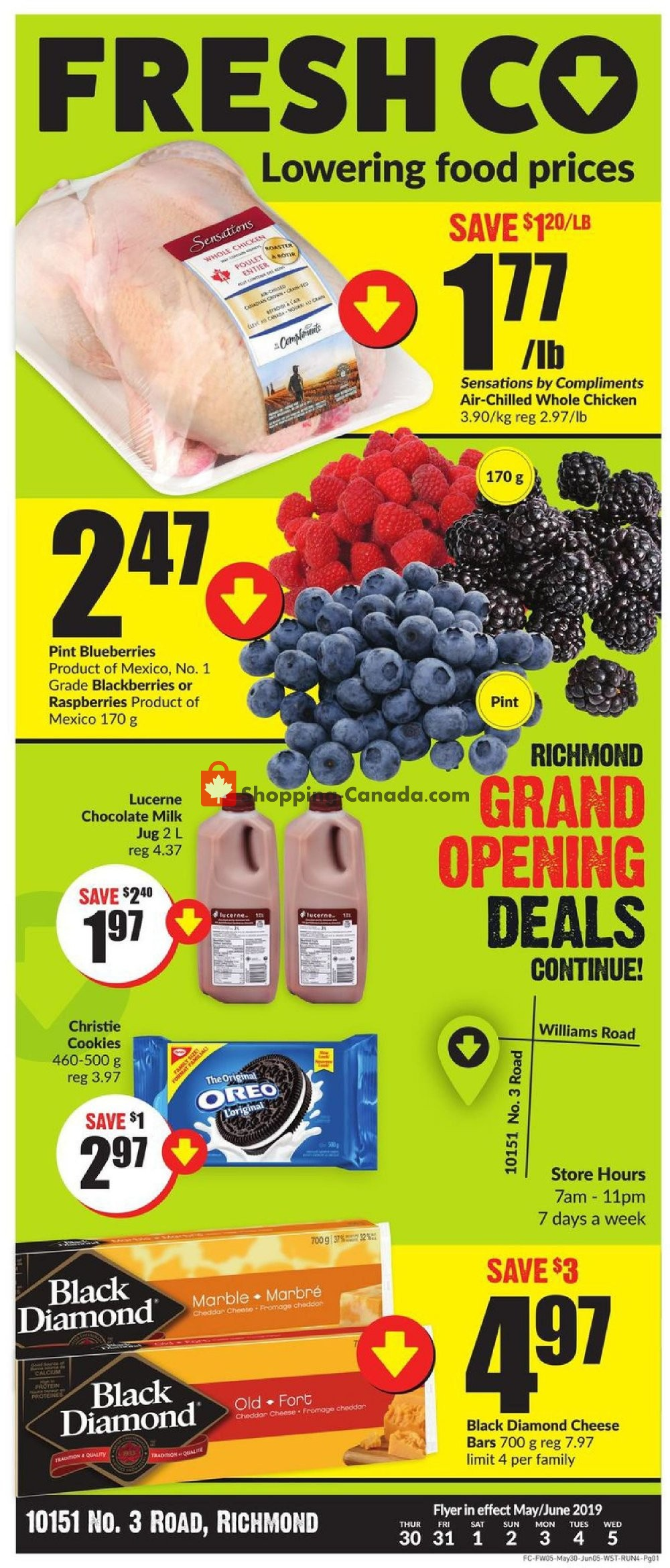 Flyer Fresh Co. Canada - from Thursday May 30, 2019 to Wednesday June 5, 2019