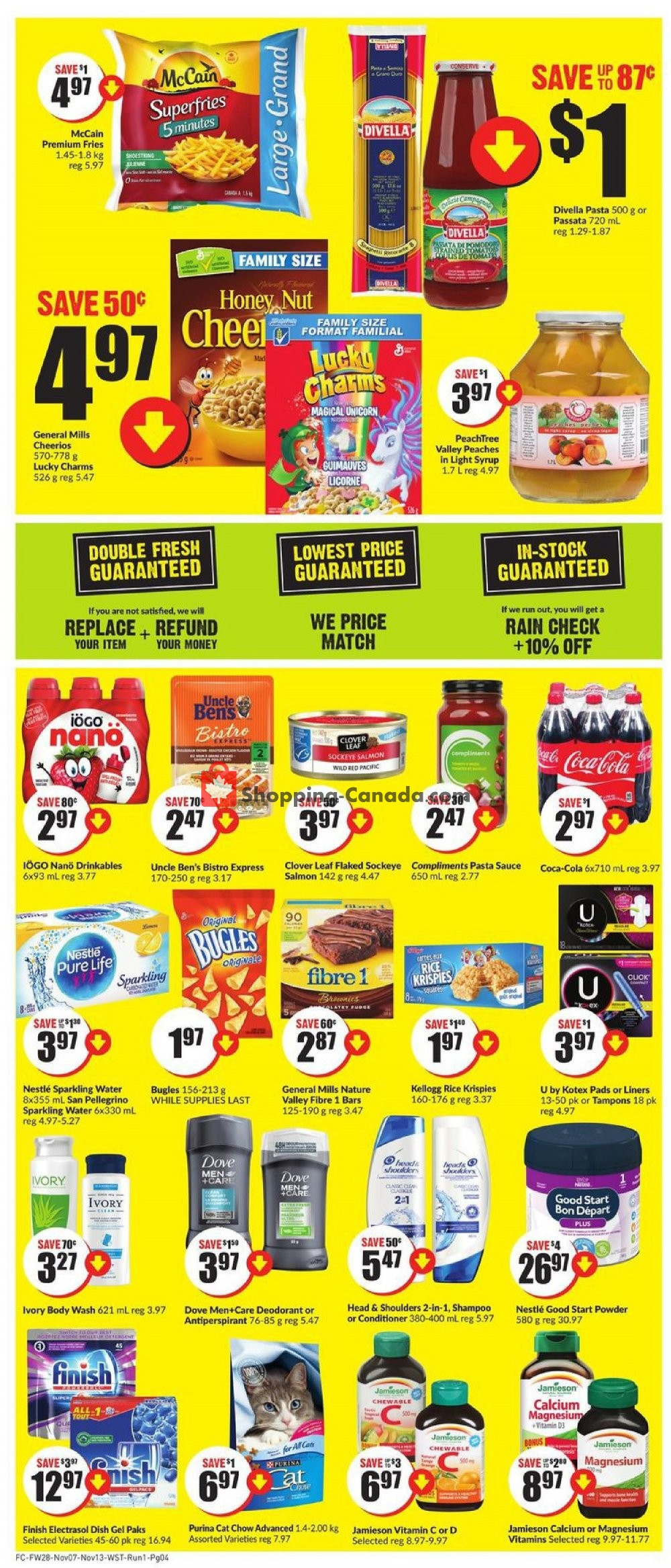 Flyer FreshCo Canada - from Thursday November 7, 2019 to Wednesday November 13, 2019