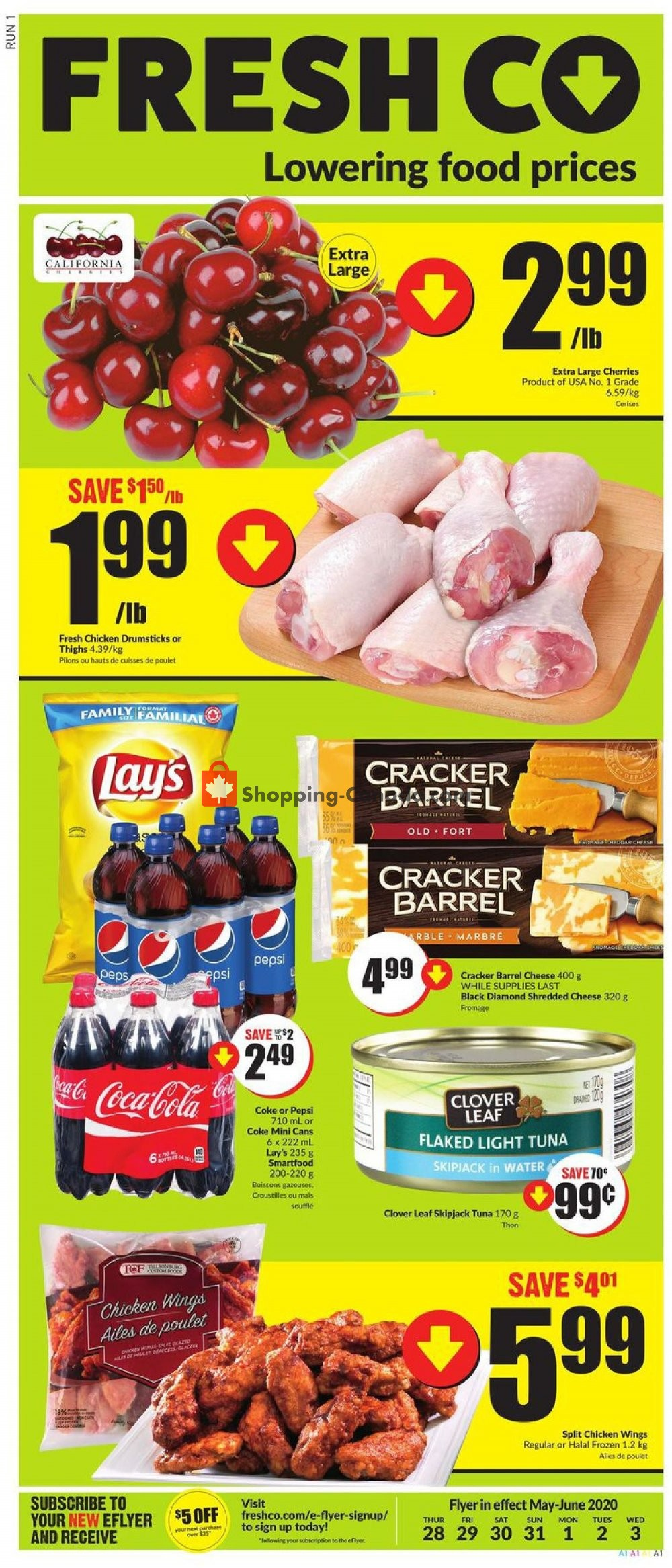 Flyer FreshCo Canada - from Thursday May 28, 2020 to Wednesday June 3, 2020
