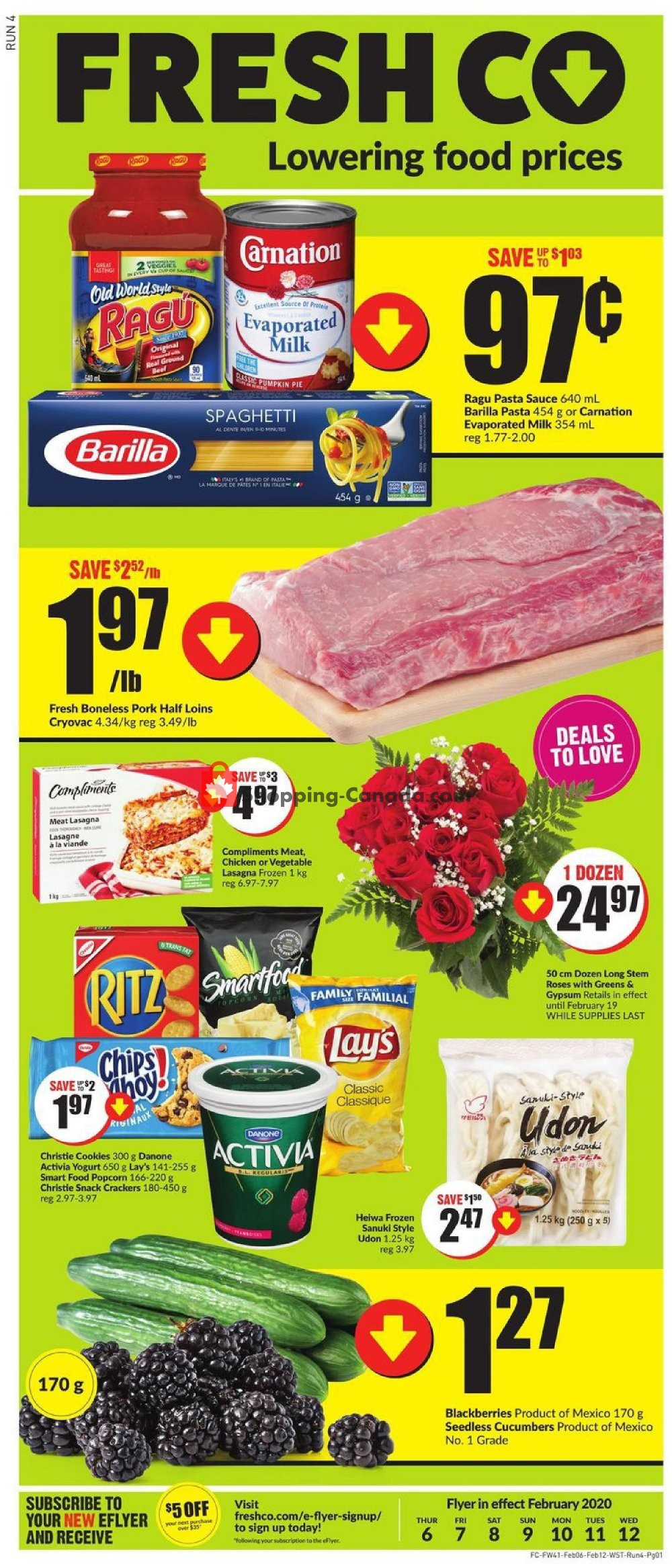 Flyer FreshCo Canada - from Thursday February 6, 2020 to Wednesday February 12, 2020