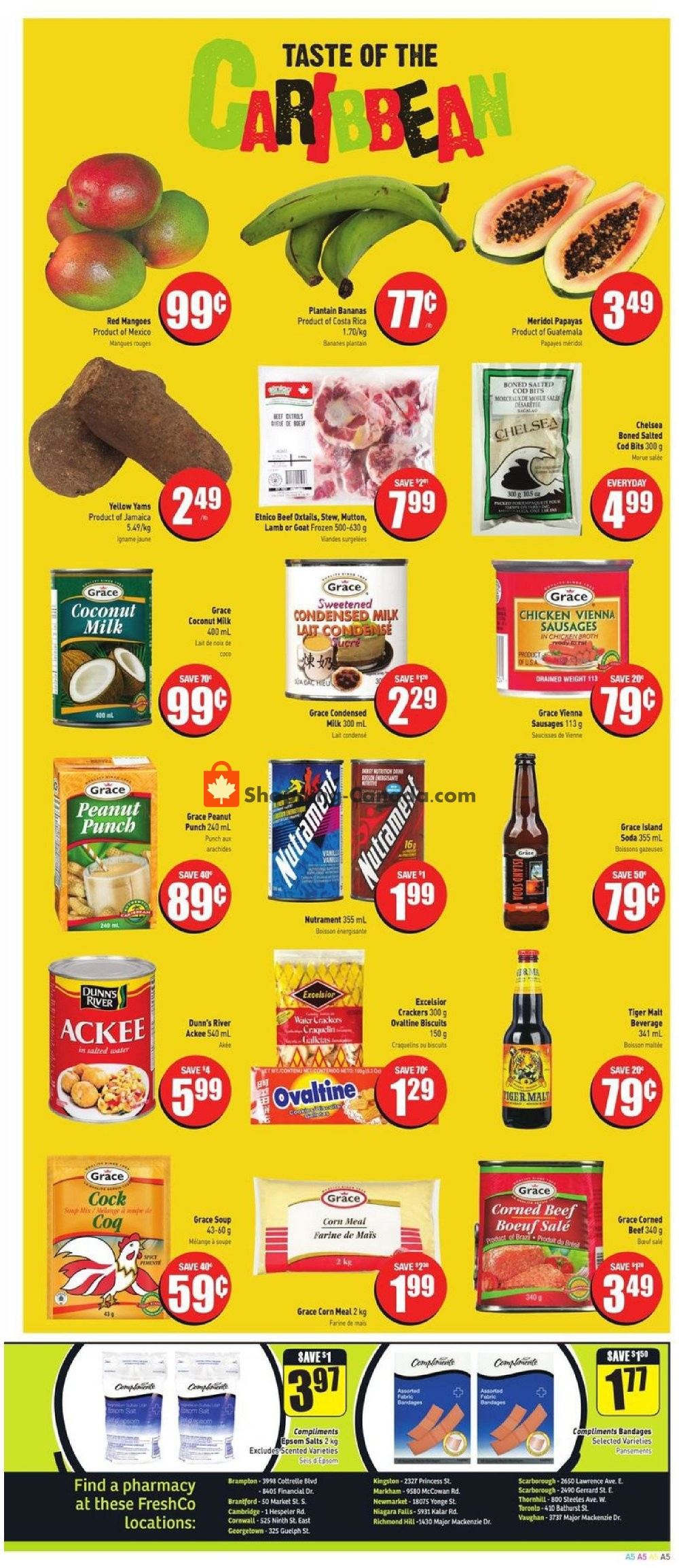 Flyer Fresh Co. Canada - from Thursday July 11, 2019 to Wednesday July 17, 2019