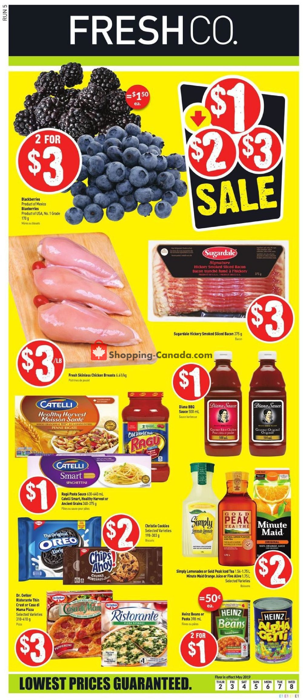Flyer FreshCo Canada - from Thursday May 2, 2019 to Wednesday May 8, 2019