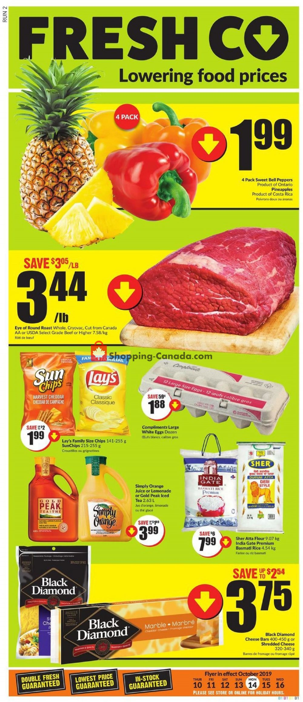 Flyer FreshCo Canada - from Thursday October 10, 2019 to Wednesday October 16, 2019