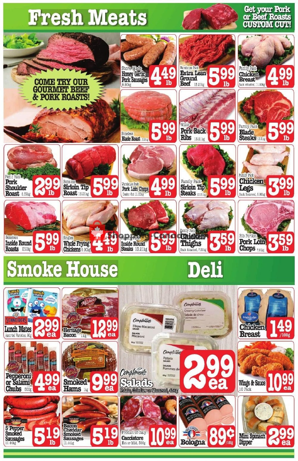 Flyer Fresh Market Foods Canada - from Friday November 8, 2019 to Thursday November 14, 2019