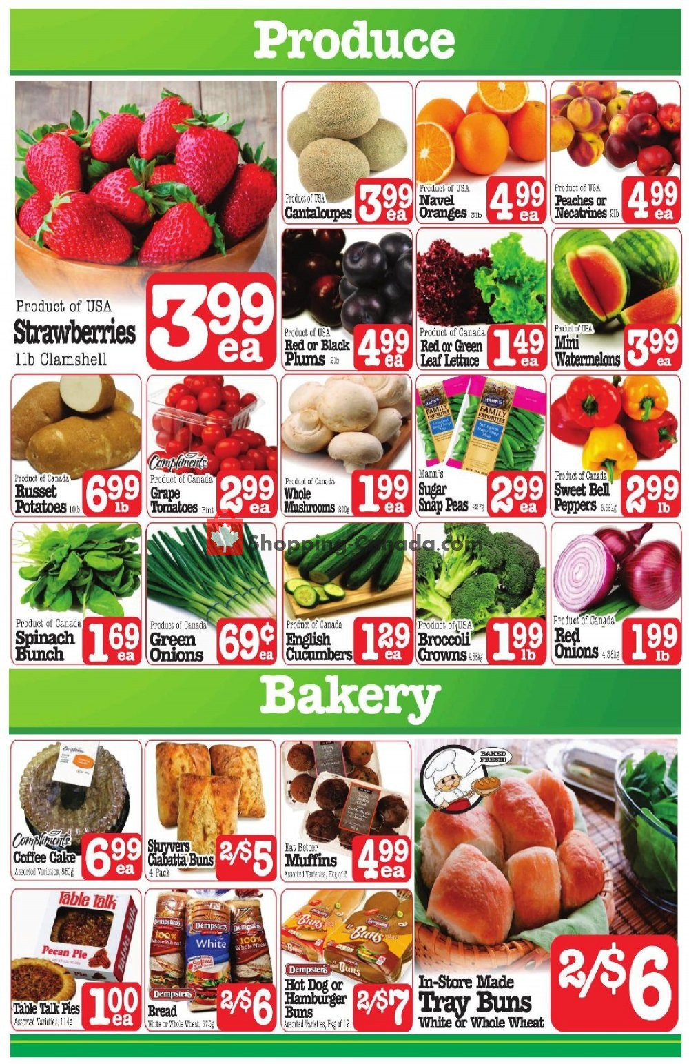 Flyer Fresh Market Foods Canada - from Friday August 9, 2019 to Thursday August 15, 2019