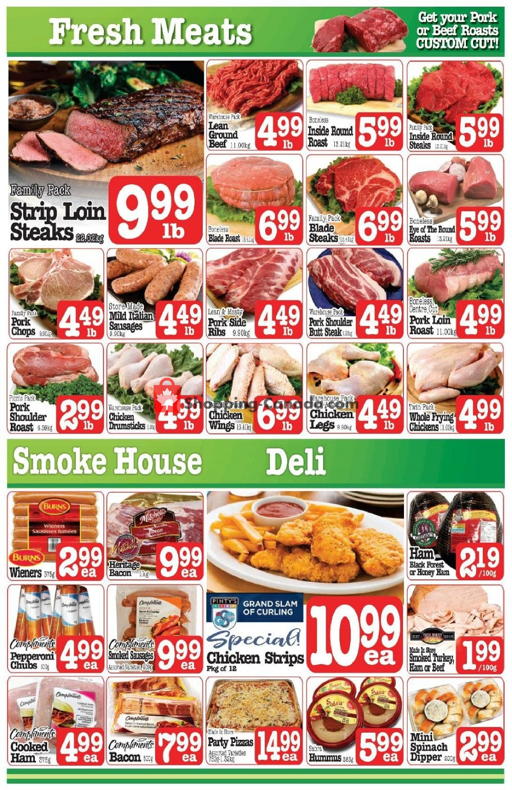Flyer Fresh Market Foods Canada - from Friday January 10, 2020 to Thursday January 16, 2020