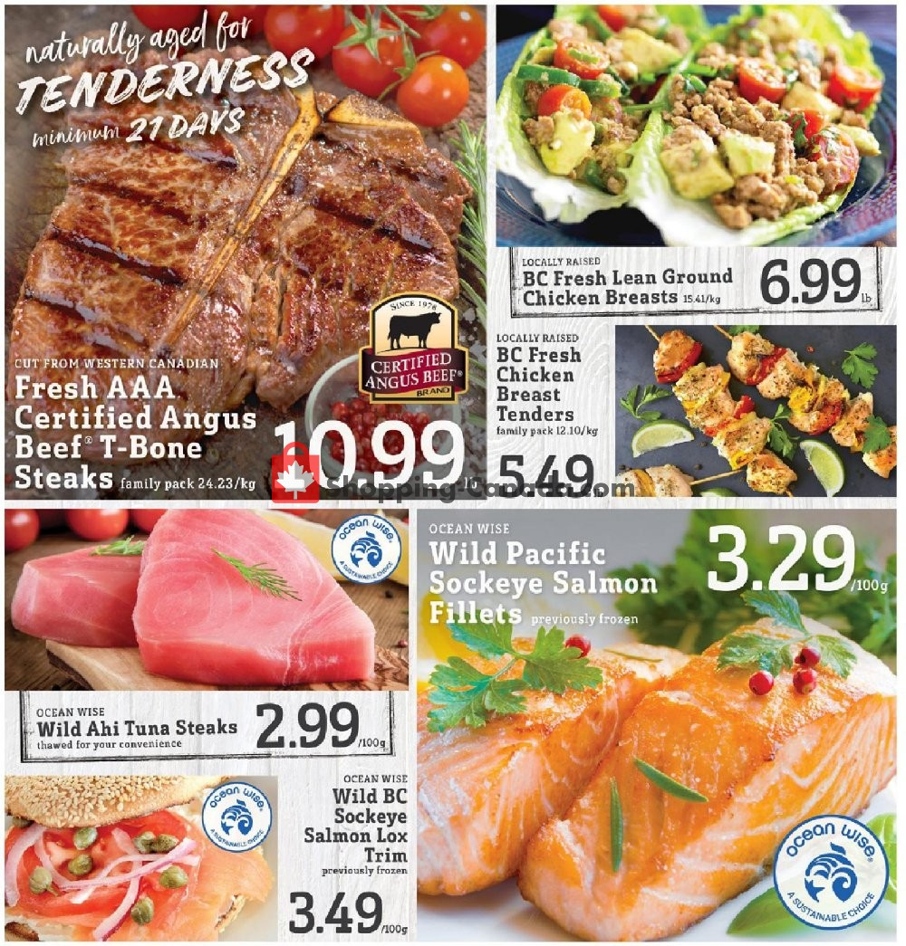 Flyer Fresh St. Market Canada - from Friday January 10, 2020 to Thursday January 16, 2020